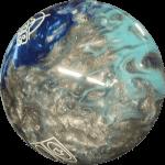 Boule Polyester T-Zone Bleu Arctique (Bleu/Bleu Ciel/Argent)