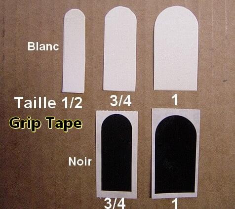 Grip Tape Blanc en 3/4