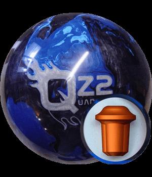QZ2 Bleu/Noir