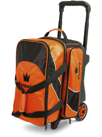 Sac 2 Boules Roulettes Brunswick Edge Orange