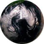 Boule Polyester 900 Global Noir/Argent