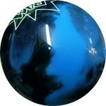 Boule Polyester 900 Global Noir/Bleu