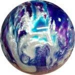 Boule Polyester 900 Global Violet/Bleu/Argent