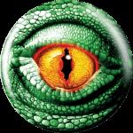 Boule de Spare Fantasy Viz-a-Ball Lézard face