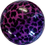 Boule de Spare Fantasy Viz-a-Ball Purple Cheetah