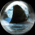 Boule de Spare Fantasy Viz-a-Ball Shark (requin) arrière