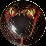Boule de Spare Fantasy Viz-a-Ball Snake arrière