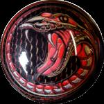 Boule de Spare Fantasy Viz-a-Ball Snake face