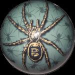 Boule de Spare Fantasy Viz-a-Ball  Spider (araignée) arrière