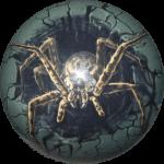 Boule de Spare Fantasy Viz-a-Ball  Spider (araignée) face