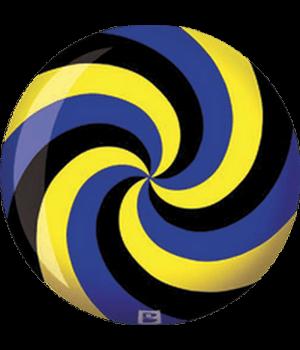 Spiral Jaune/Bleu/Noir