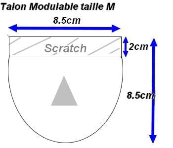 Talon Modulable Universale