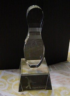 Trophée Cristal Quille