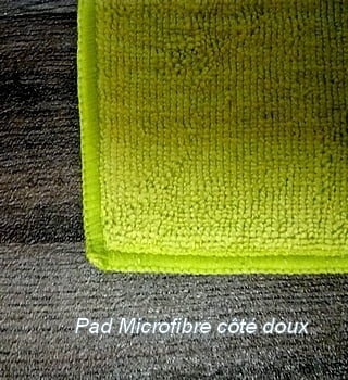 Pad Microfibre Double Face (Lot de 2)