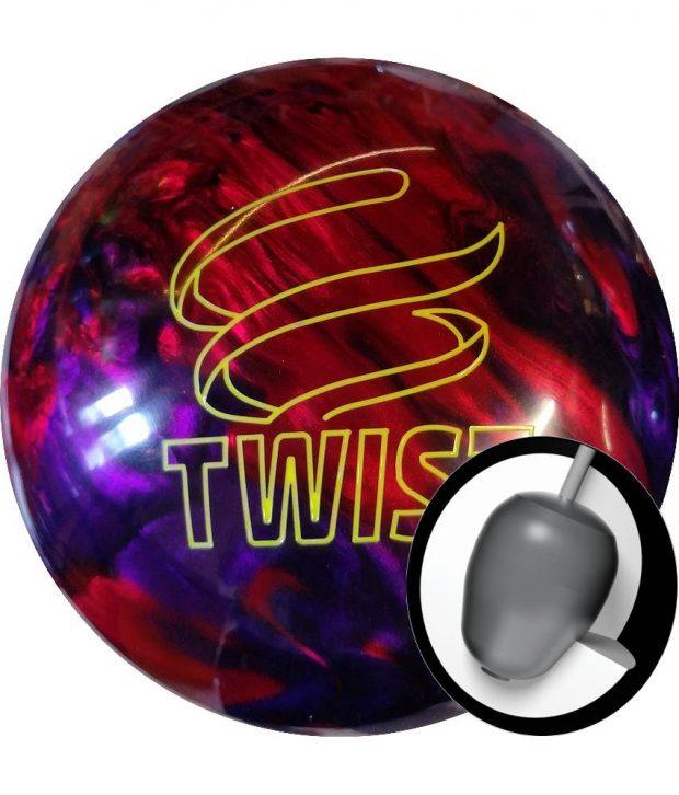 Brunswick Twist Rouge/Purple