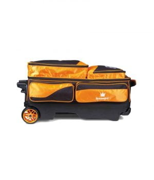 Sac 3 Boules Roulettes Brunswick Edge Orange/Noir