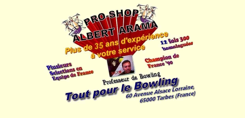 Pro-Shop Albert Arama