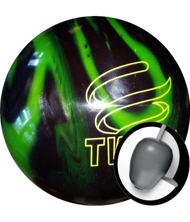 Brunswick Twist Vert Fluo/Noir