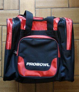 Sac 1 Boule ProBowl Deluxe Rouge/Noir