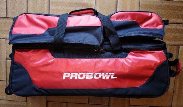 Sac 3 Boules Tote Plus ProBowl Rouge/Noir (avec compartiment)