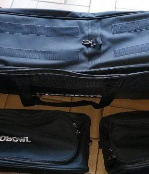 Sac 3 Boules Tote Plus ProBowl Noir/Noir (avec compartiment)