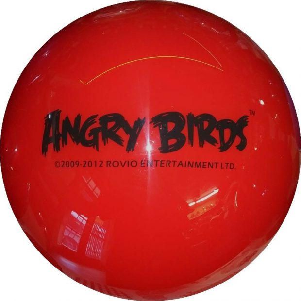 Angry Birds Rouge (Semi Transparente)