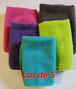 Serviette Microfibre (Lot de 5)