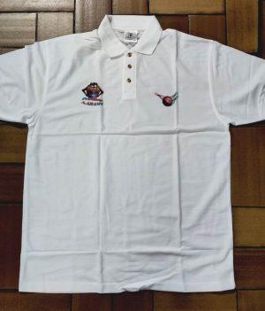 Polo Motif Taz Blanc (XX-Large)