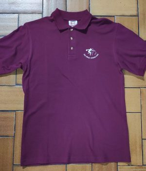 Polo Motif bowling Bordeaux (Small)