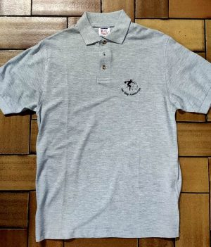 Polo Motif bowling Gris Clair (Small)
