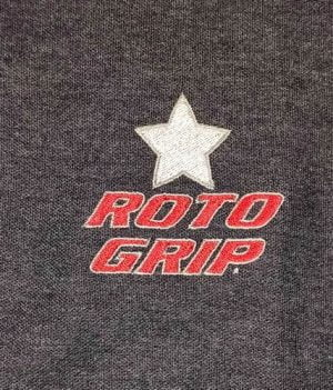 Polo RotoGrip Gris/Blanc/Rouge (Medium)