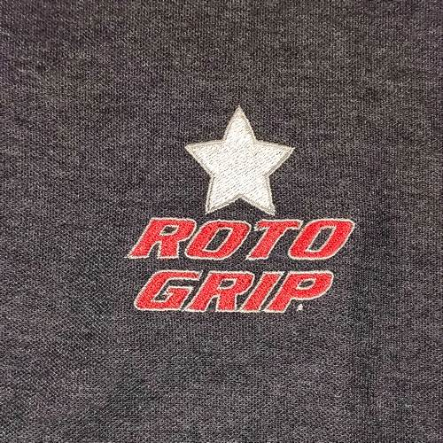 Polo RotoGrip Gris/Blanc/Rouge (Large)