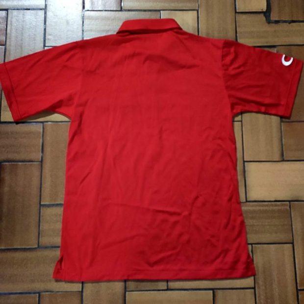 Polo-Shirt Columbia Rouge (Medium)