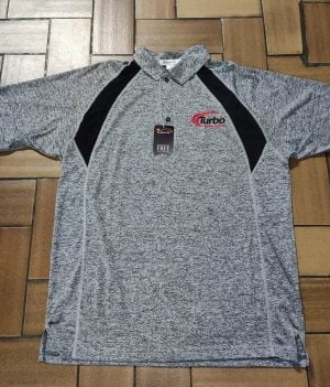 Polo-Shirt Turbo Gris (Large)