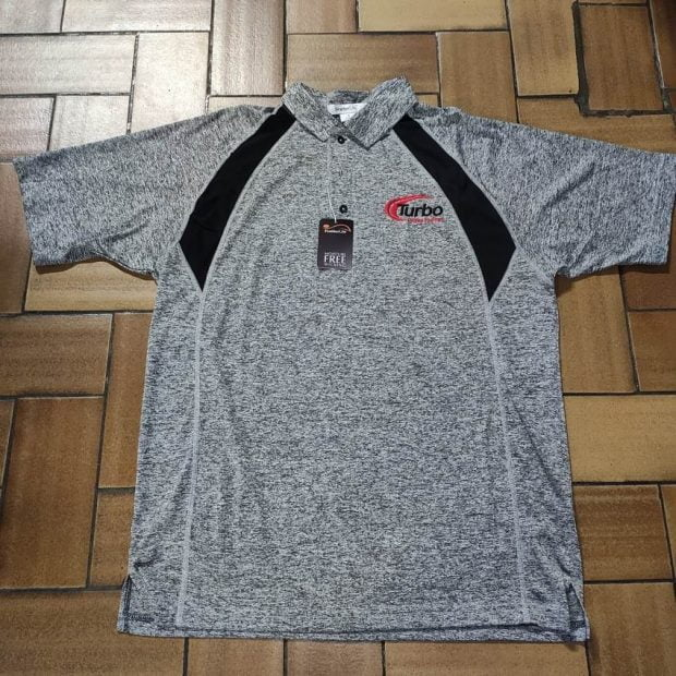 Polo-Shirt Turbo Gris (Large)
