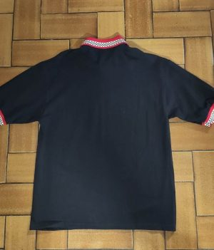Polo Vise Noir/Rouge (Medium)