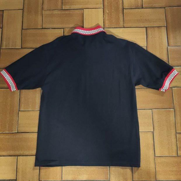 Polo Vise Noir/Rouge (Medium)