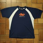 T-Shirt Motiv Bleu Marine Recto