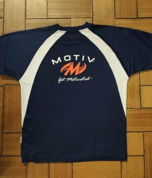 Motiv T-Shirt Bleu Marine (Large)