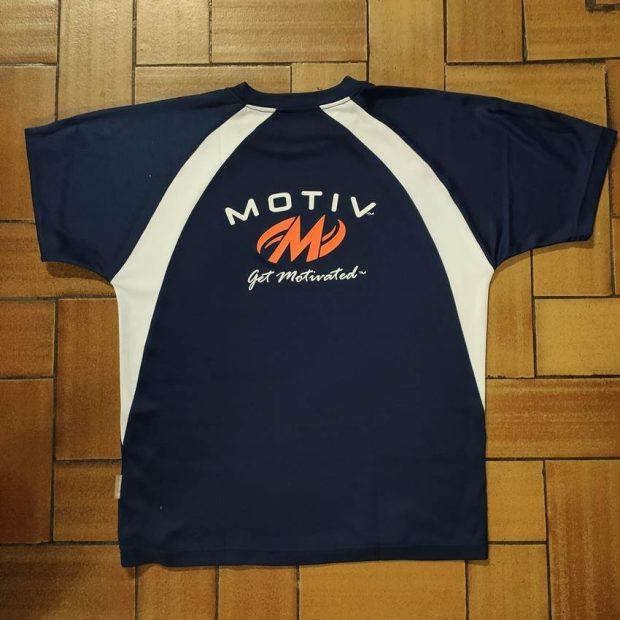 Motiv T-Shirt Bleu Marine (X-Large)